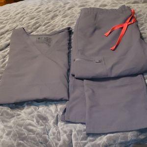 Figs Charcol Grey Set! Large Casma Large Tall Yola